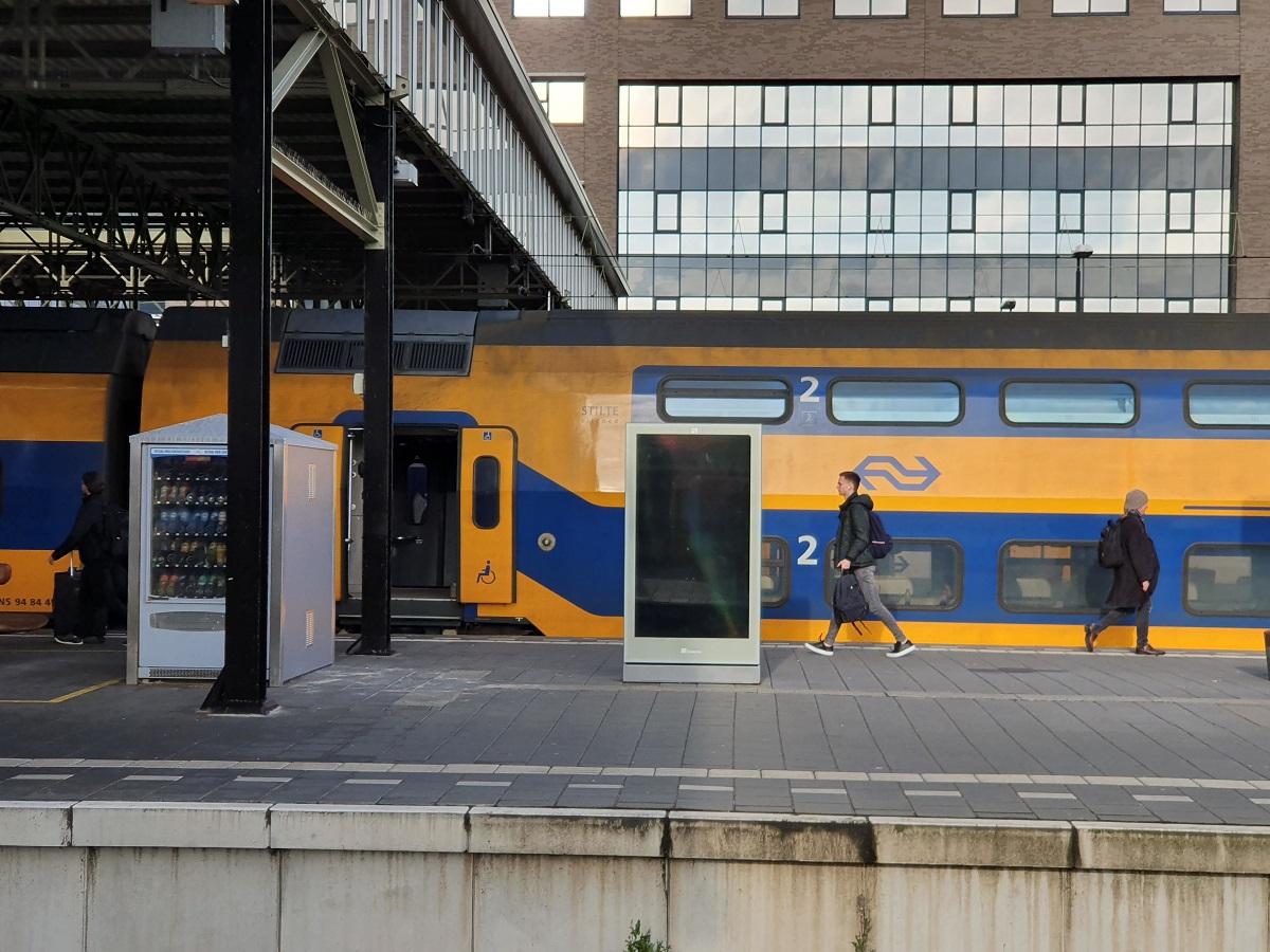 station reclameborden