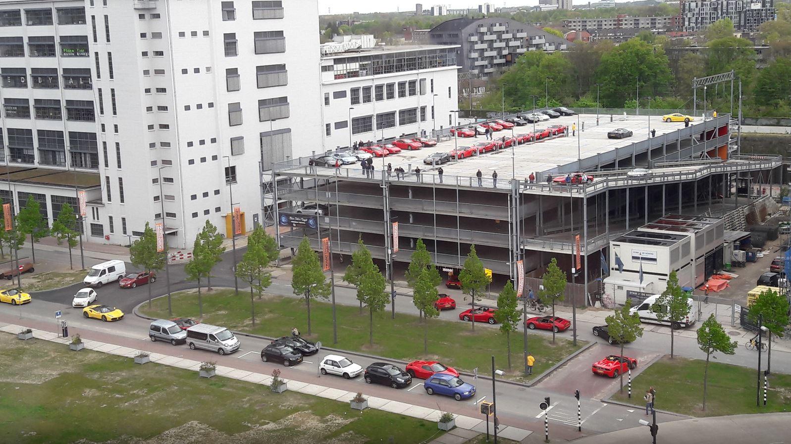 parkeergarage klokgebouw
