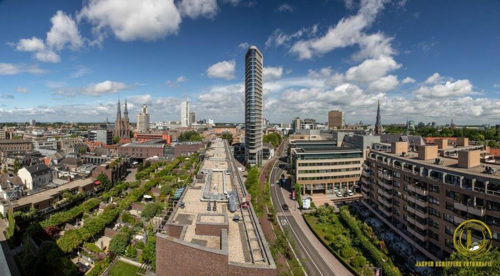 Eindhoven van bovenaf gezien