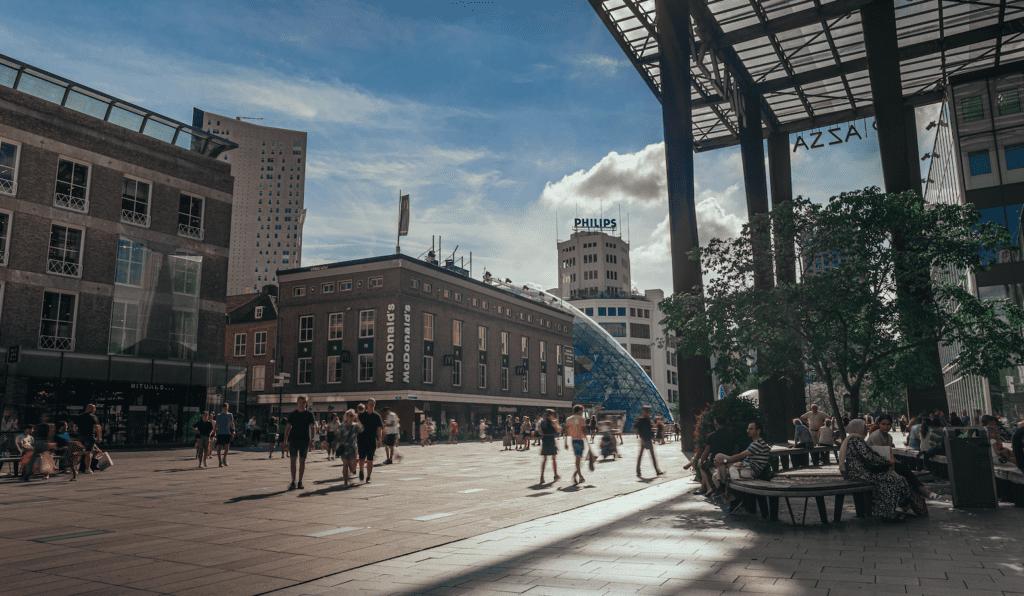 eindhoven 18 septemberplein piazza