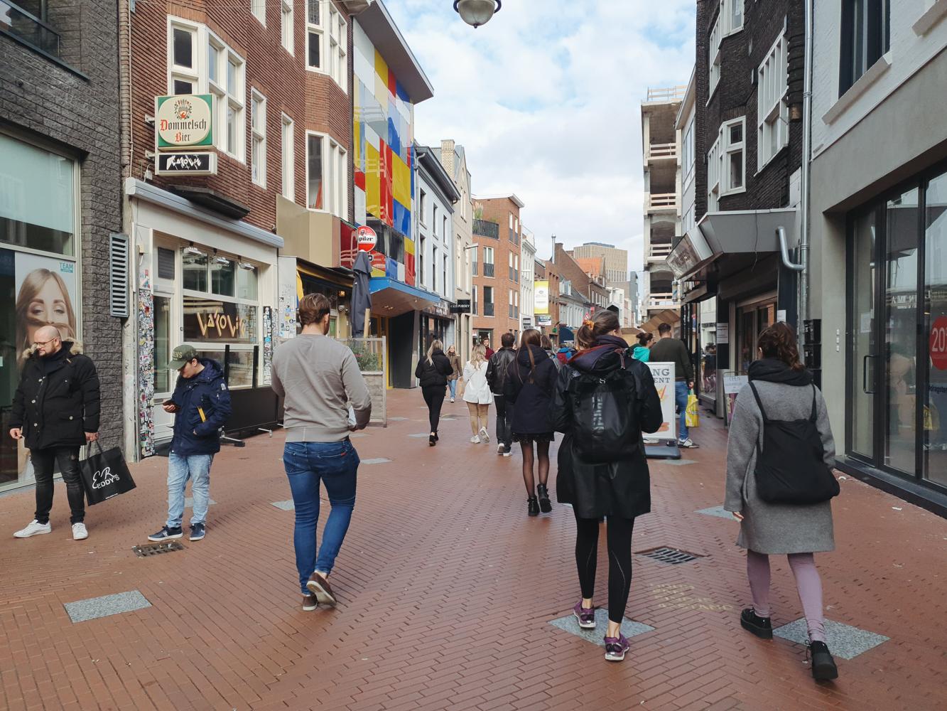 eindhoven corona centrum binnenstad aanbiedingen