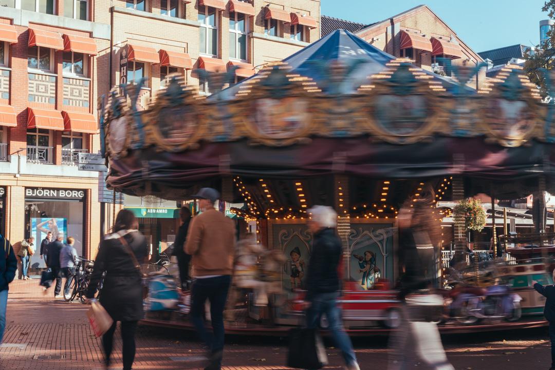 eindhoven centrum markt carrousel