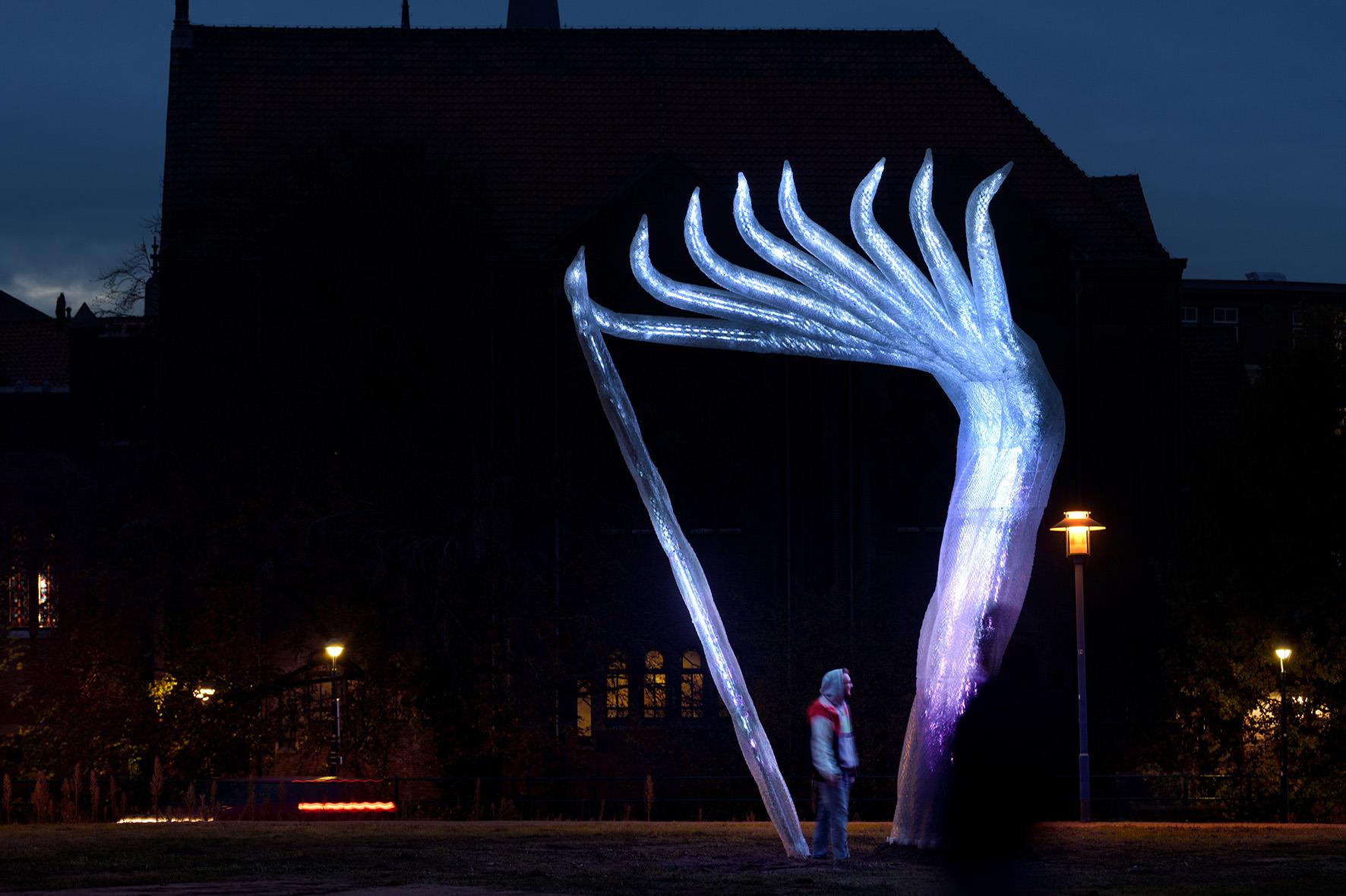 Lichtkunstwerk Eindhoven