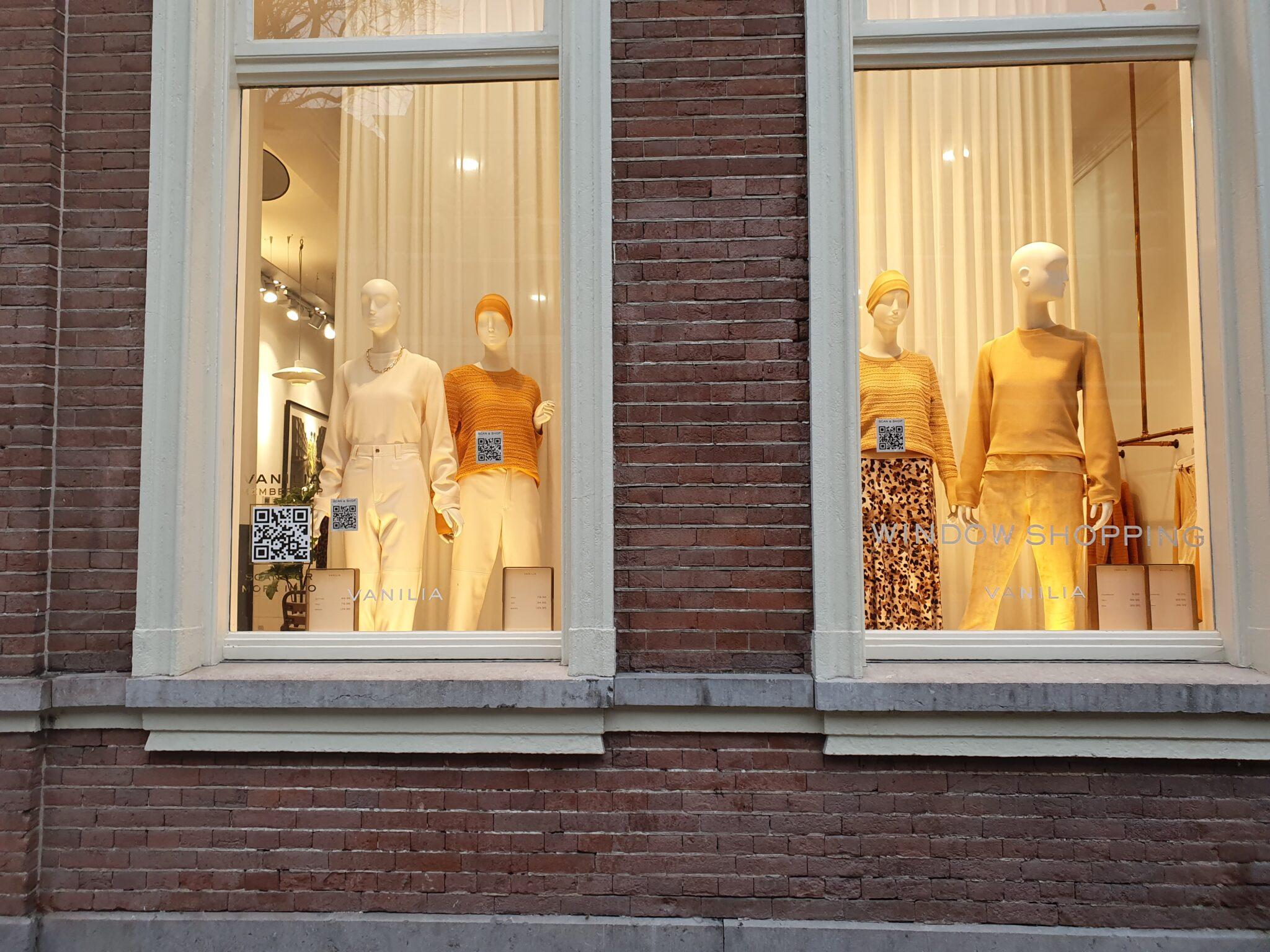 window shoppen etalage