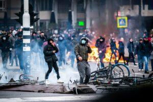 demonstratie eindhoven rellen