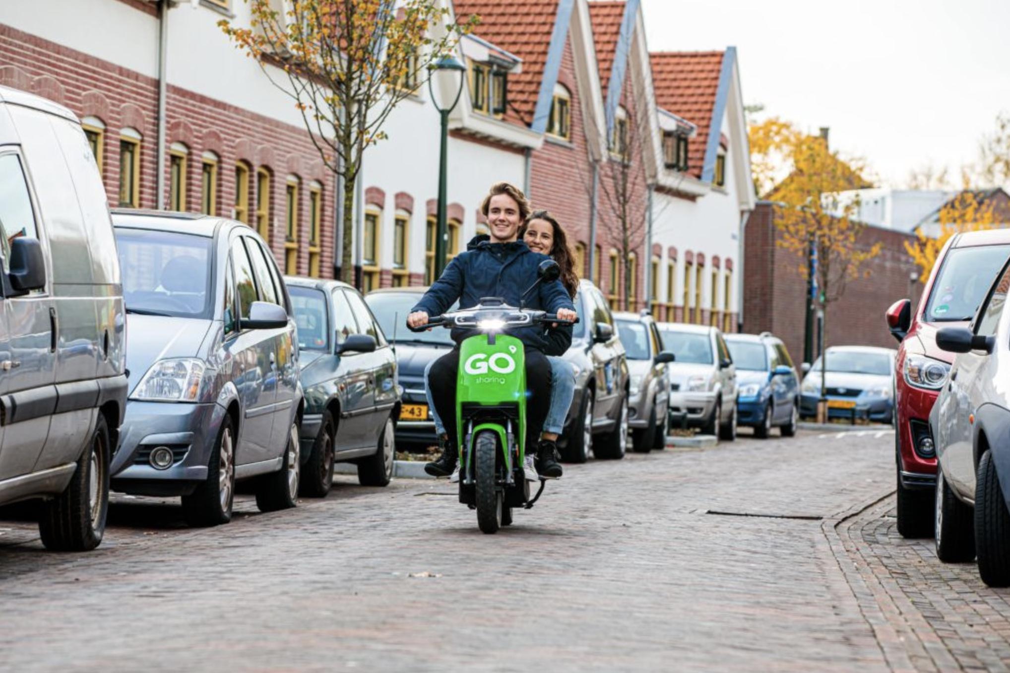 go sharing deelscooter
