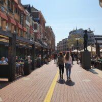 terrassen markt weer open