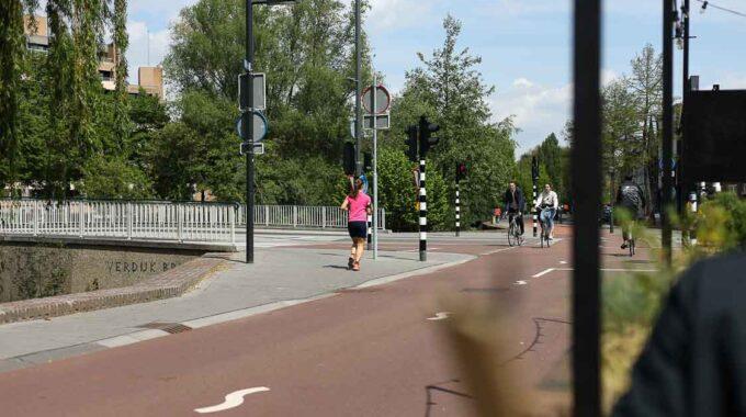 rennen joggen fietsen slowlane