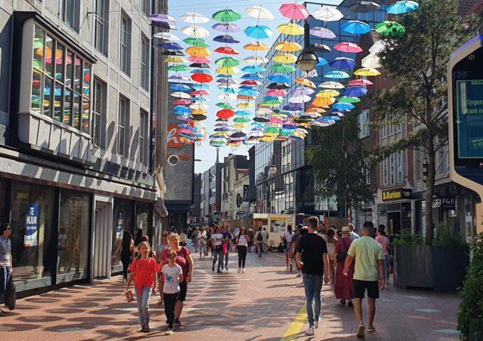 binnenstad aanbiedingen centrum demer paraplu