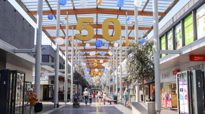 winkelcentrum woensel 50 jaar