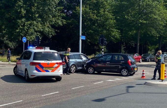 botsing verkeersongeval verkeersongeluk eindhoven