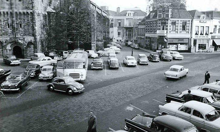 Oude markt jaren 60