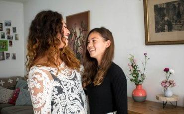 Interview Miryam fotoshoot