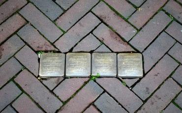 gouden stenen Stolpersteine
