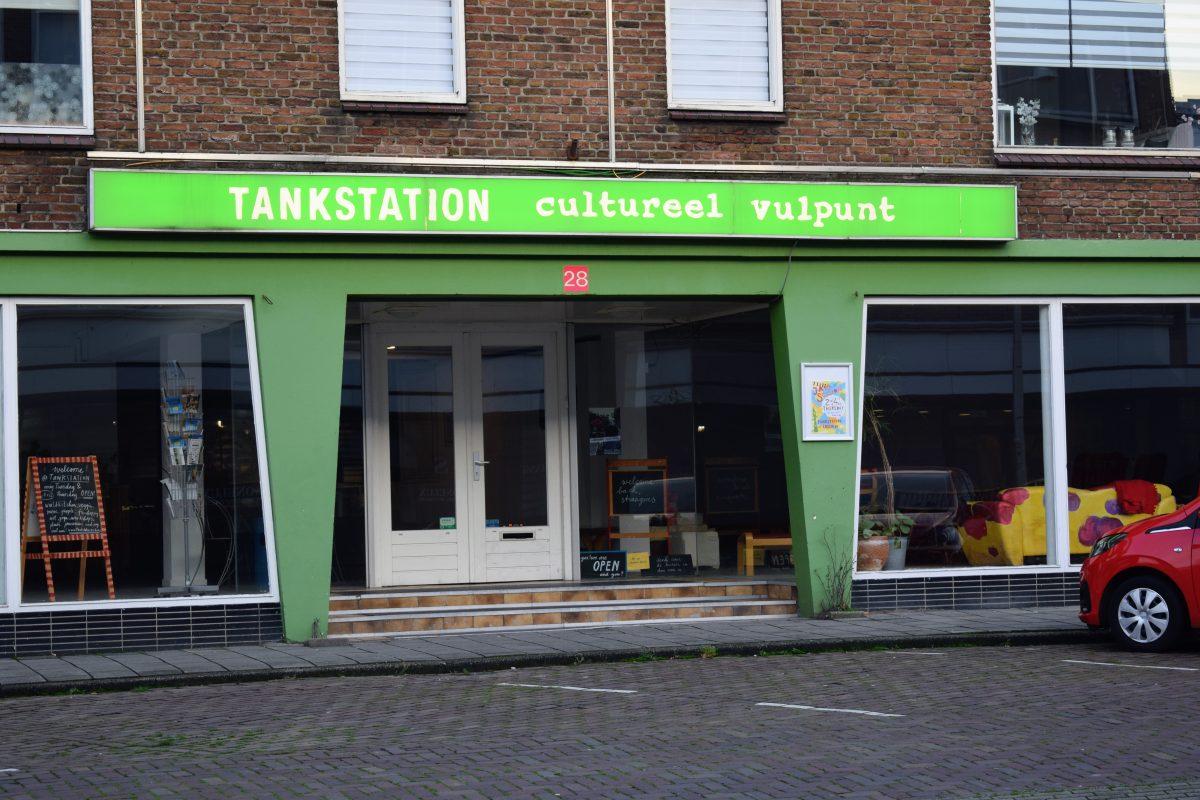 cultureel vulpunt tankstation