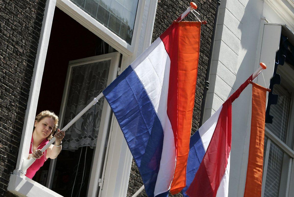 vlag uithangen