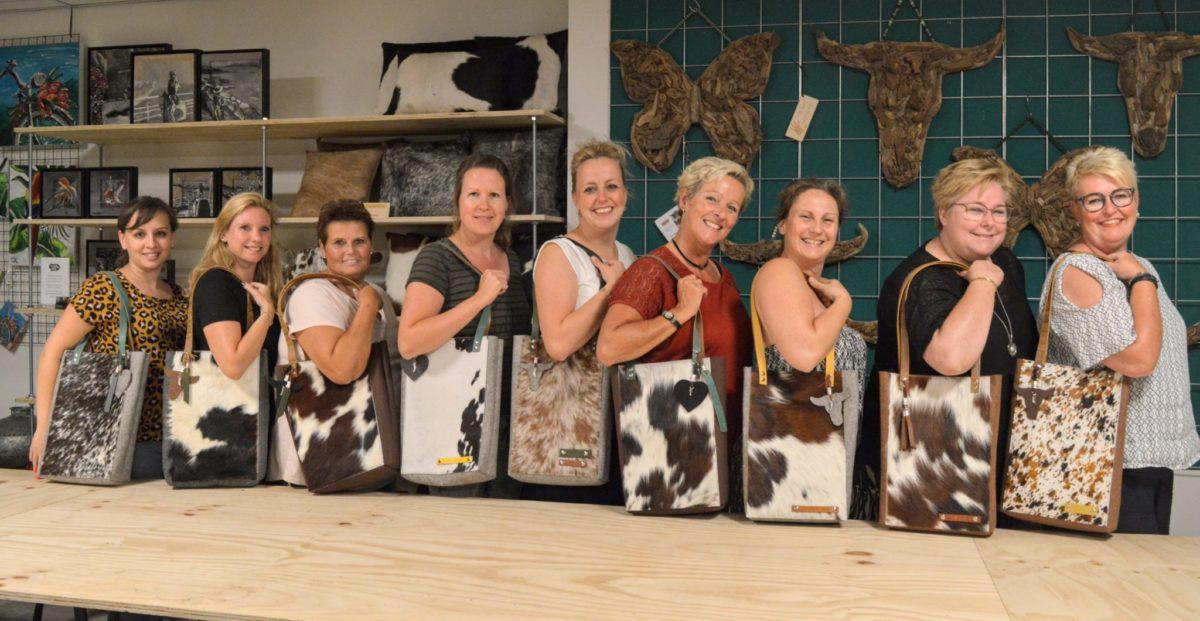 workshop tassen maken De Blije Naald
