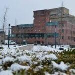 sneeuw enschede balengebouw