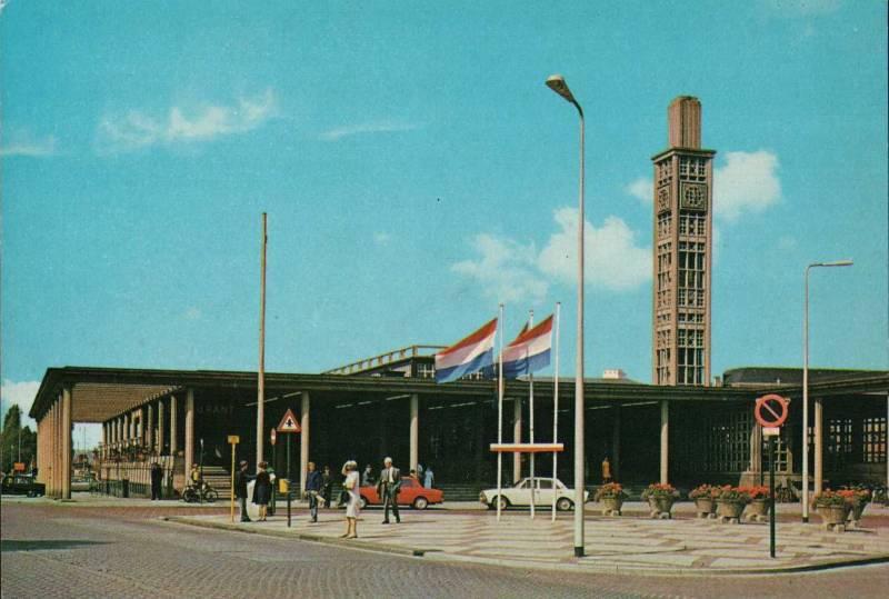 Station Enschede 1975