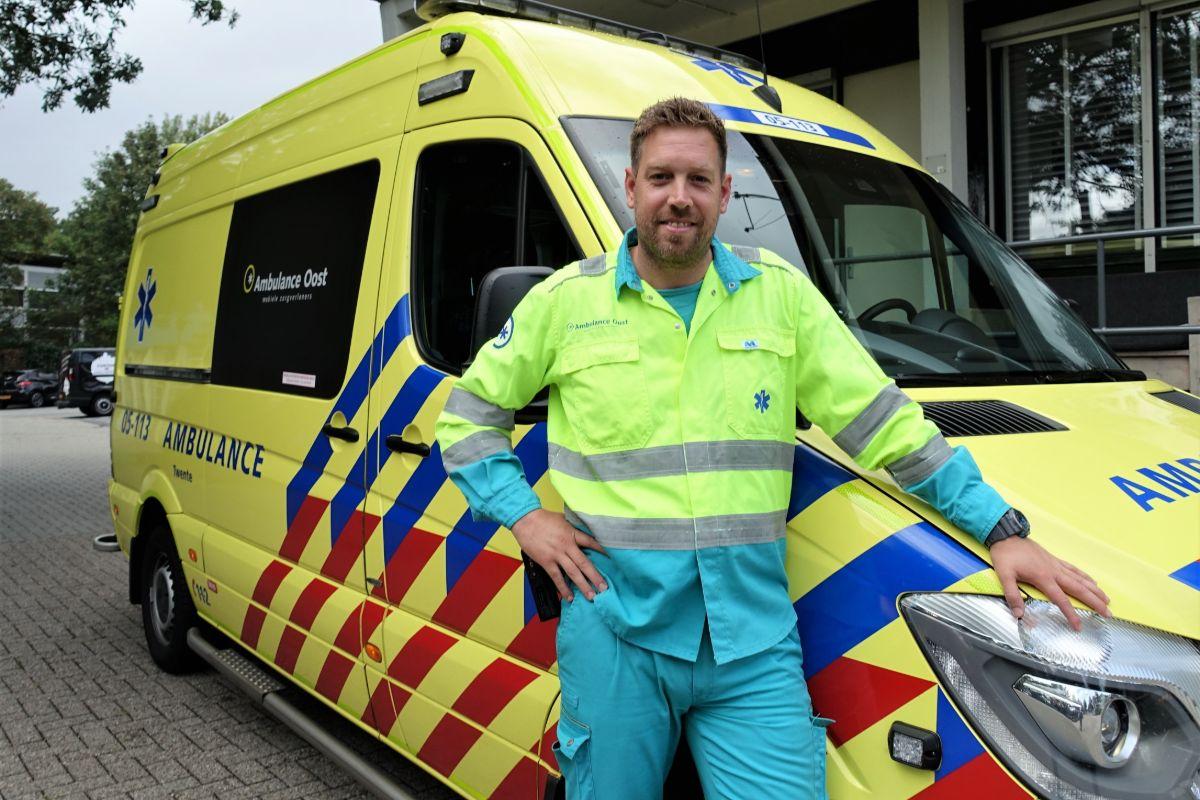 Ambulancechauffeur Tjeerd