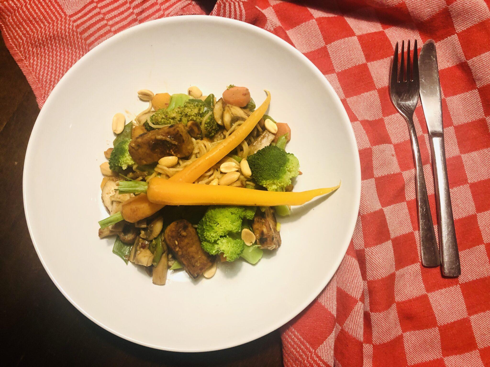 koken met romy wokgerecht