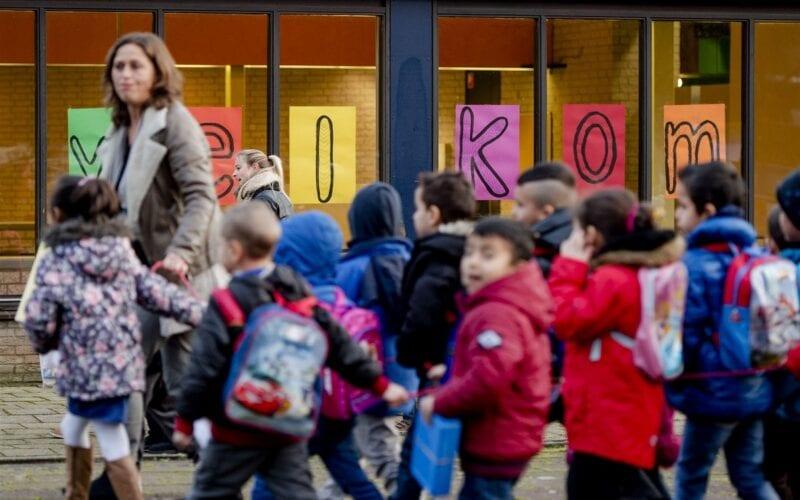 leraren staken school scholen basisschool