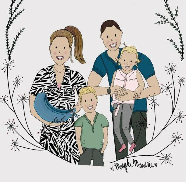Familieportret Maryke Mondria