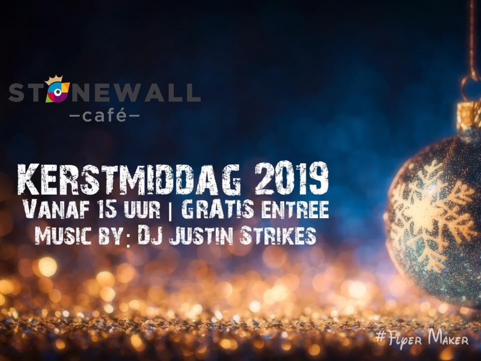 Cafe stonewall kerstmiddag