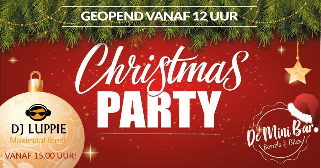 Mini Bar Christmas party