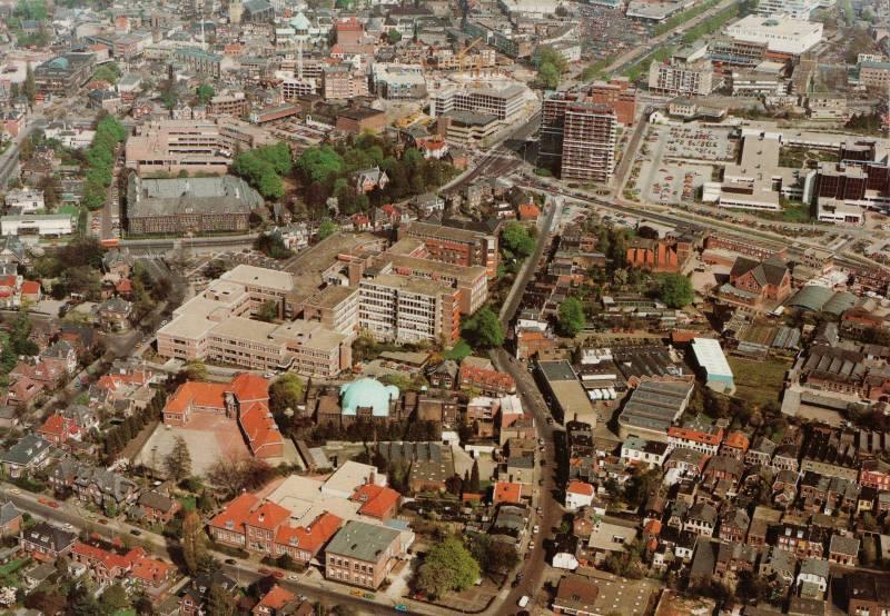luchtfoto r.k. ziekenhuis
