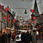 long lane of love winter wonderland