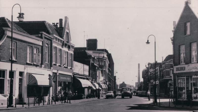 Haaksbergerstraat vanaf kruispunt ribberdastraat