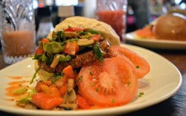 vegan burger brasserie willemientje_3