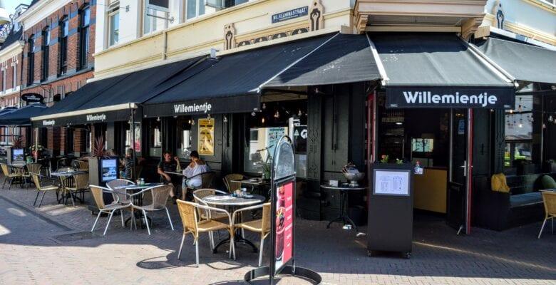terras Brasserie Willemientje