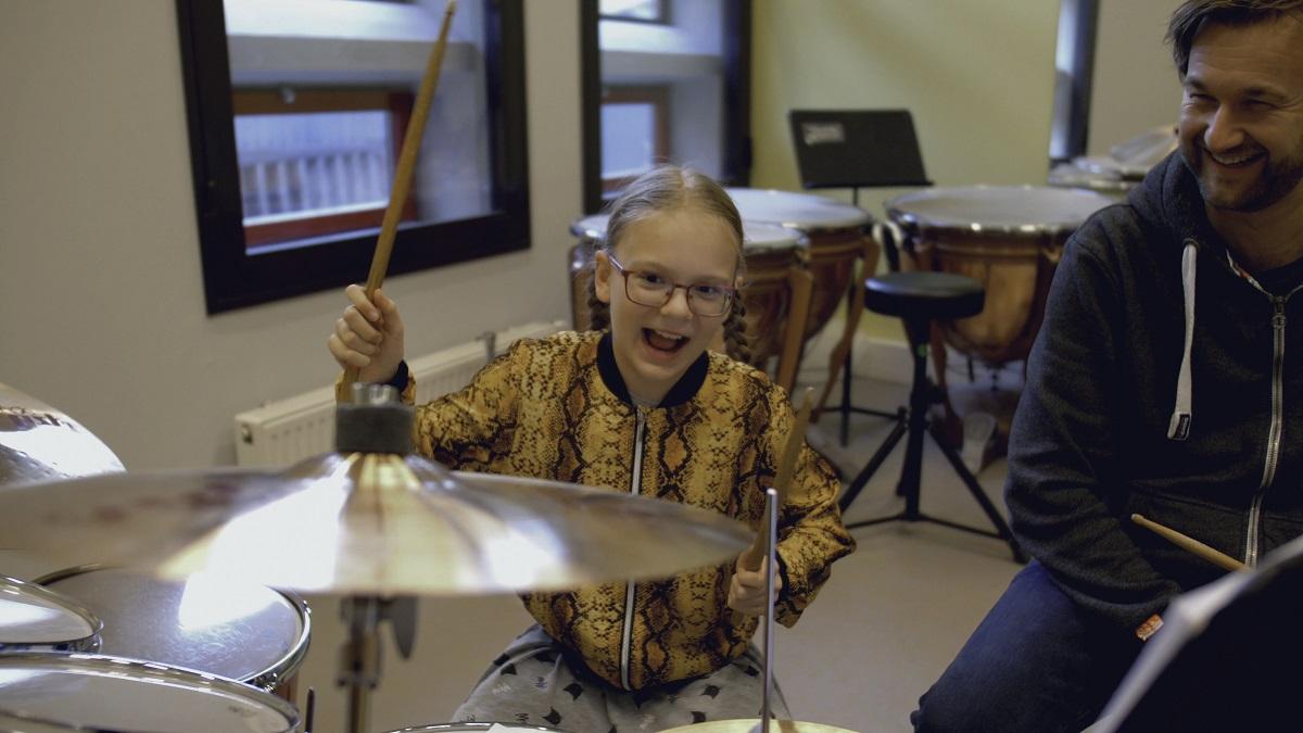 open huis kaliber drummen