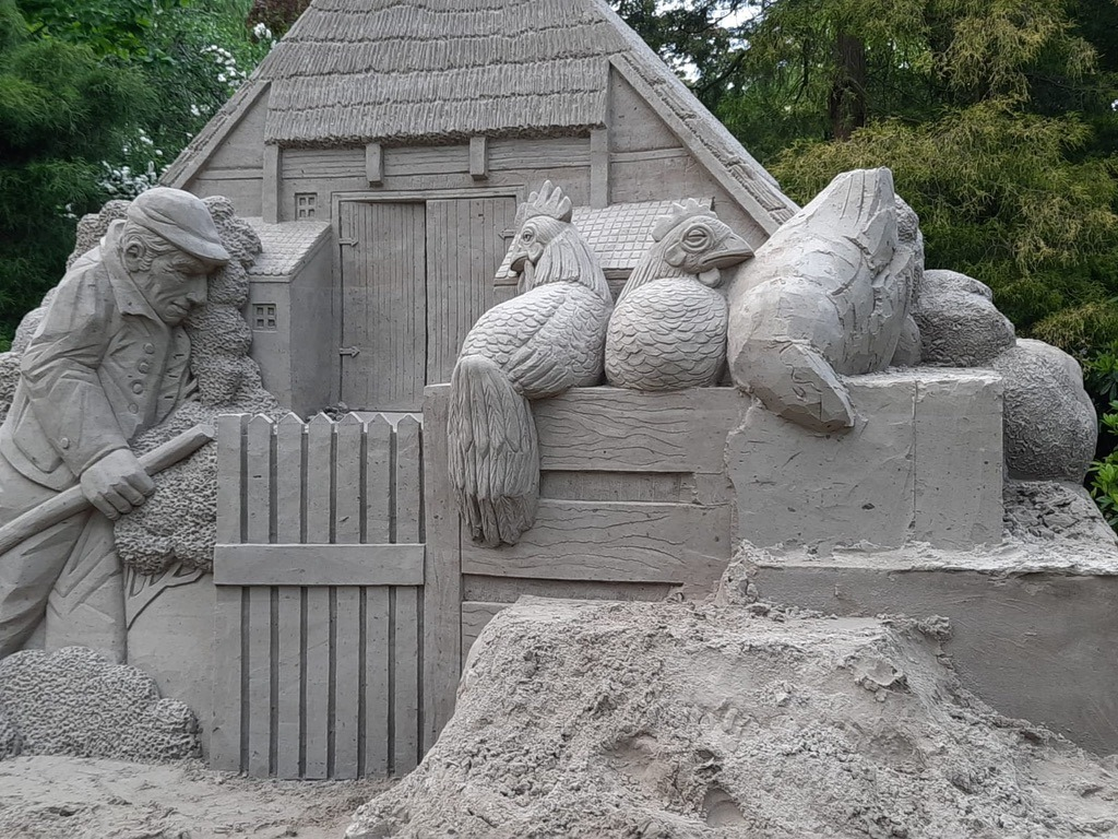 zandsculpturen diepenheim