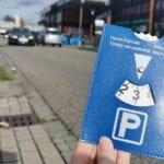 blauwe parkeerschijf woonplein (1)