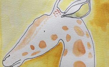 dierenportret tekenen