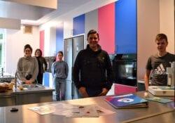 3D-voedselprinter bonhoeffer college
