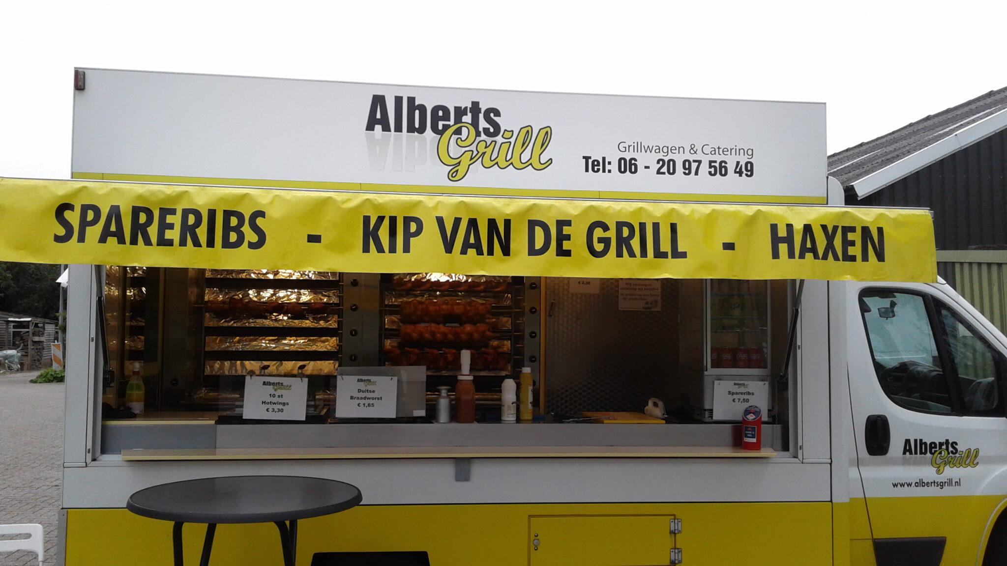 alberts grill