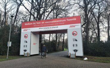 test- en vaccinatielocatie GGD Twente