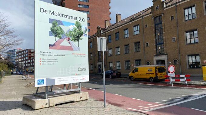 werkzaamheden Molenstraat_Hengelosestraat