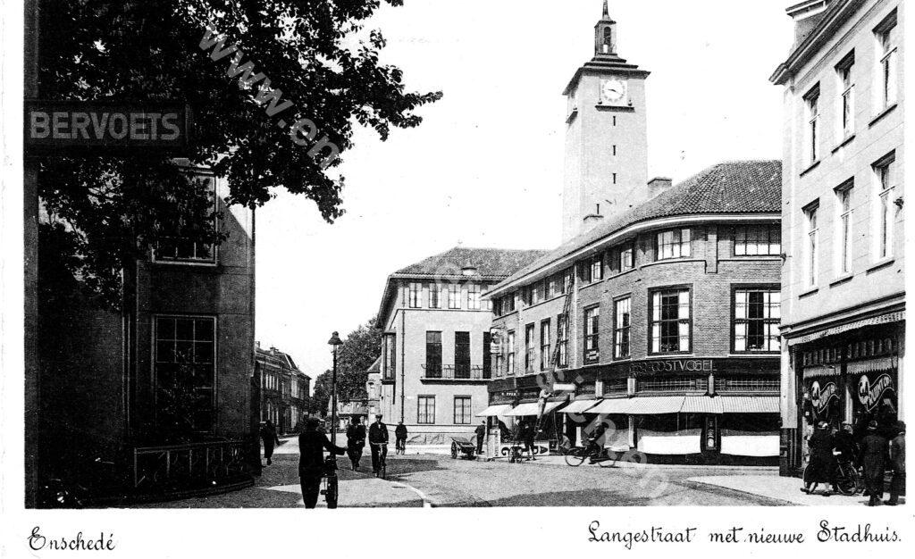 langestraat 1938