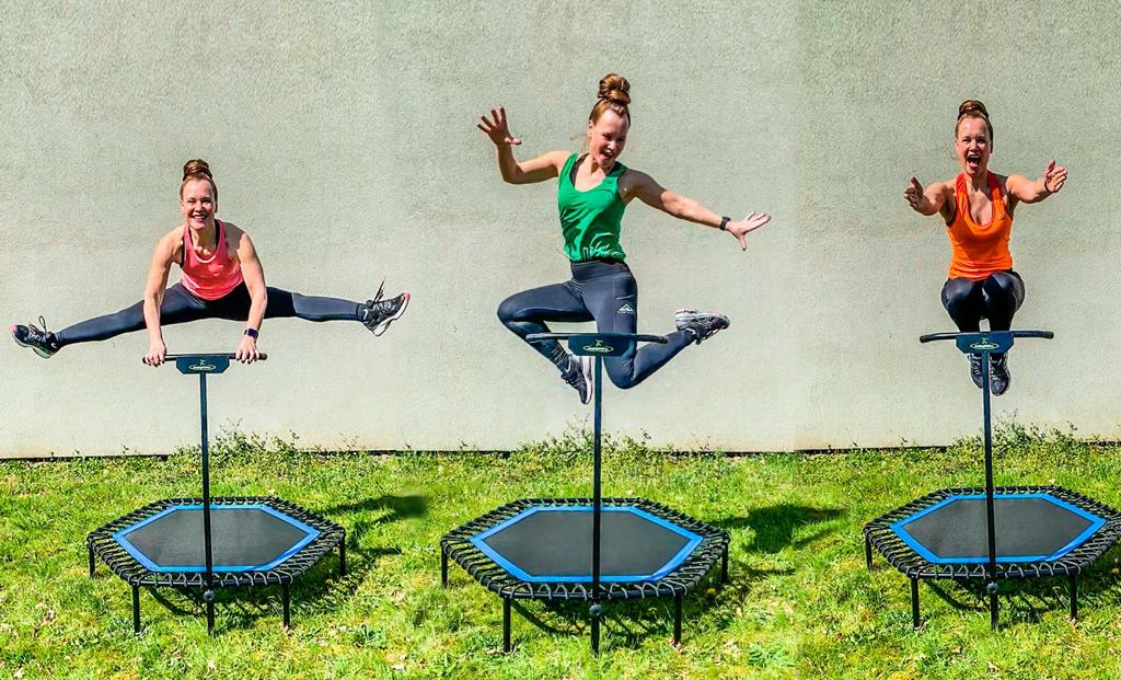jumping outdoor