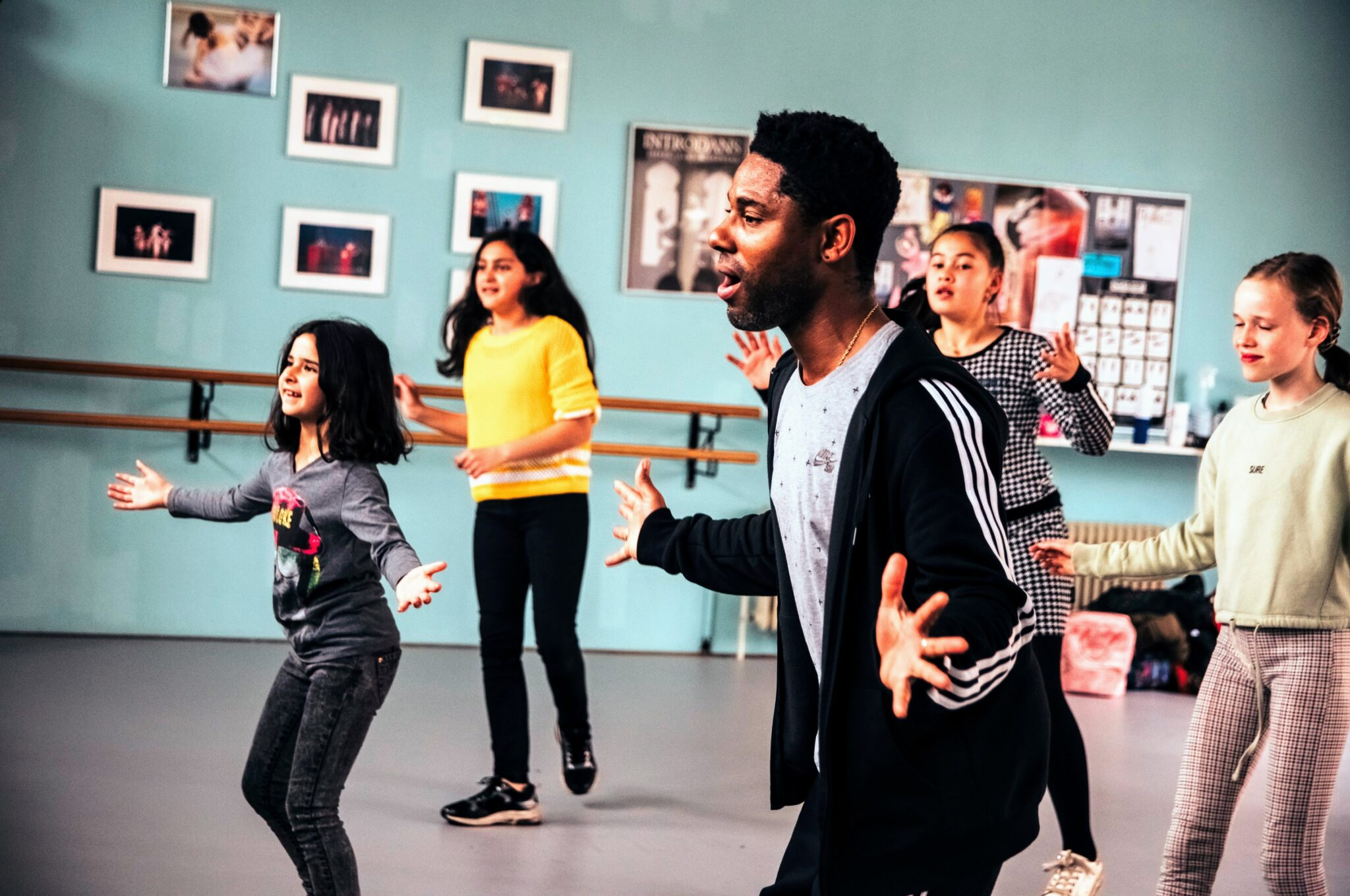 Urvin Monte dansdocent Musicaldance Kaliber
