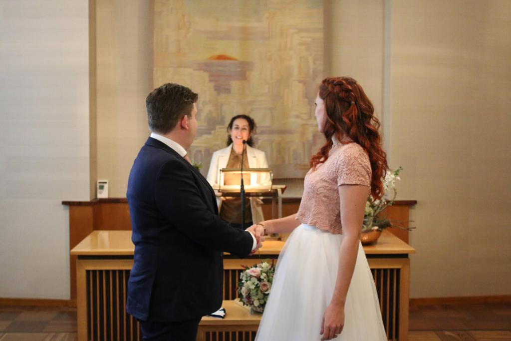 trouwen tom en mara