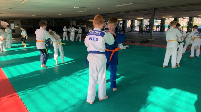 judotraining-parkeergarage