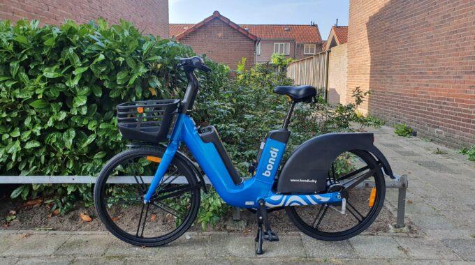 bondi-fiets in Enschede
