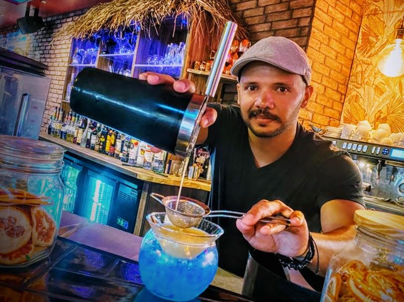 barman Mario van The Foodclub