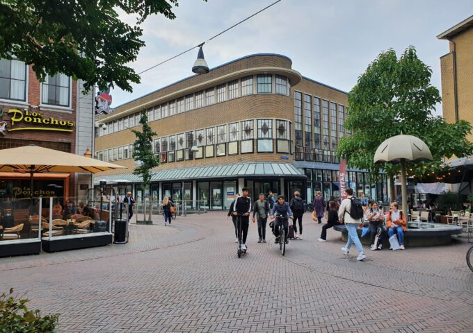 Korte haaksbergerstraat/kruispunt de graaf